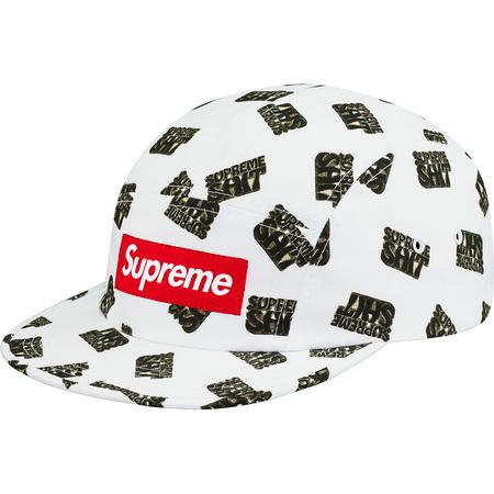 Supreme Shit Camp Cap (White)
