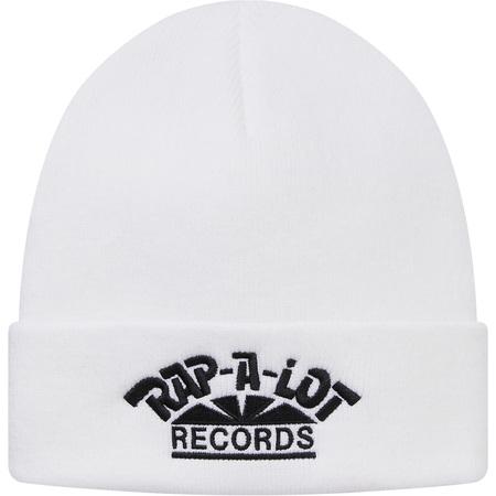 Supreme®/Rap-A-Lot Records Beanie (White)