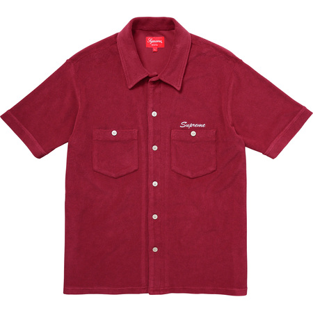 Terry S/S Shirt (Burgundy)