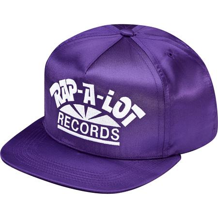 Supreme®/Rap-A-Lot Records Satin 5-Panel (Purple)