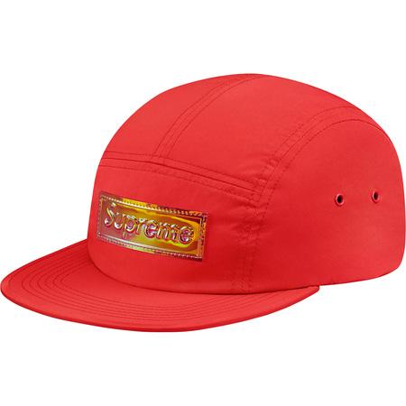 Iridescent Logo Camp Cap (Red)