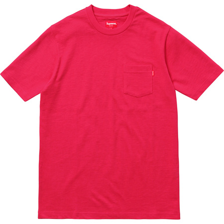 Pocket Tee (Bright Red)