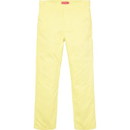 Work Pant (Light Yellow)