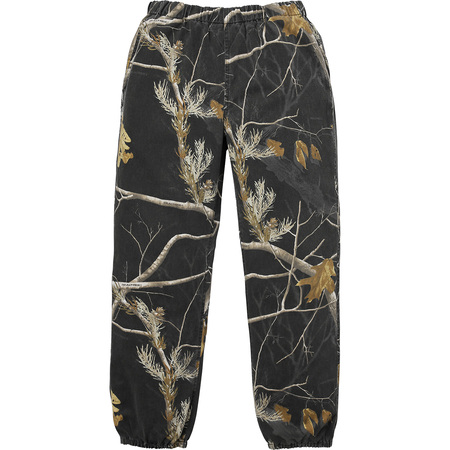 Realtree® Camo Flannel Pant (Black)