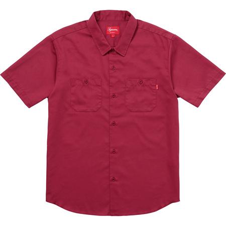Gonz Ramm Work Shirt (Light Burgundy)