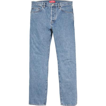 Stone Washed Slim Jeans (Indigo)