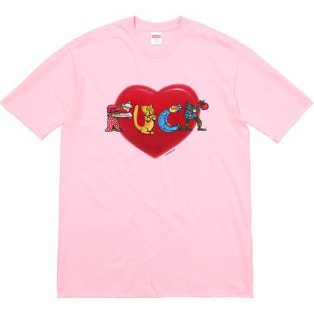 Heart Tee (Light Pink)