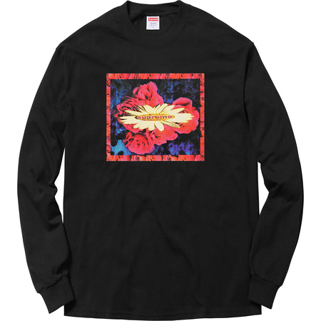 Bloom L/S Tee (Black)
