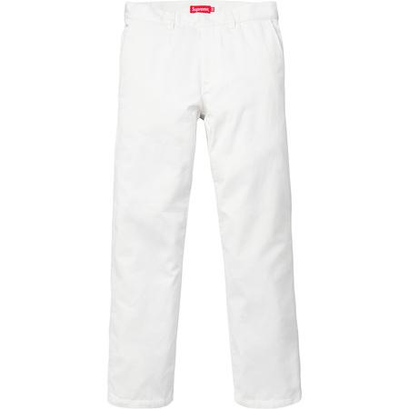 Work Pant (White)