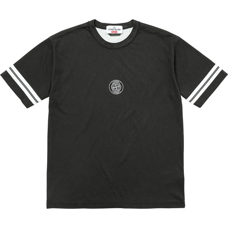 Supreme®/Stone Island® S/S Top (Black)