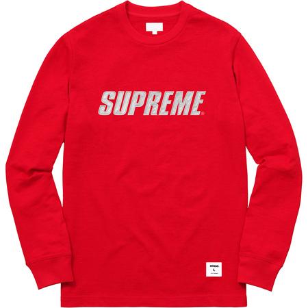 Metallic L/S Top (Red)