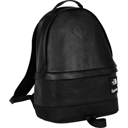 Supreme®/The North Face® Leather Day Pack (Black)
