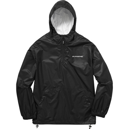 Packable Ripstop Pullover (Black)