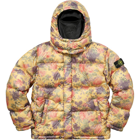 Supreme®/Stone Island® Lamy Cover Stampato Puffy Jacket (Copper)