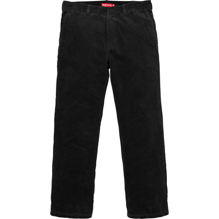 Corduroy Work Pant (Black)