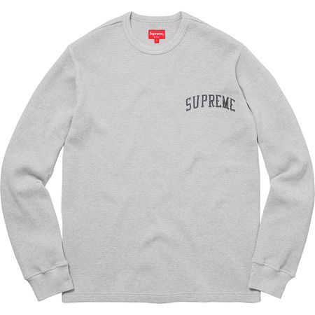 Arc Logo L/S Thermal (Heather Grey)