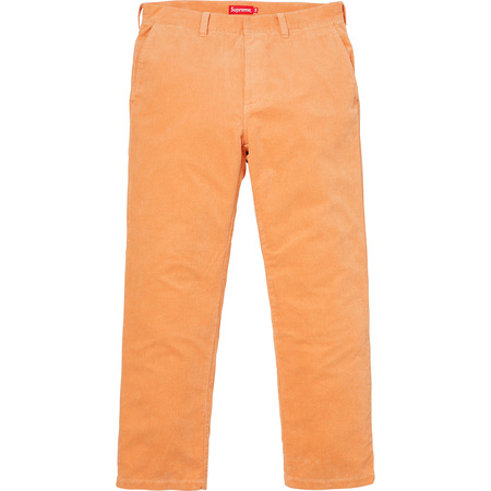 Corduroy Work Pant (Peach)