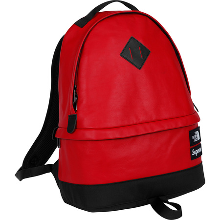 Supreme®/The North Face® Leather Day Pack (Red)