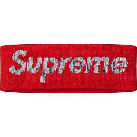 New Era® Reflective Logo Headband (Red)