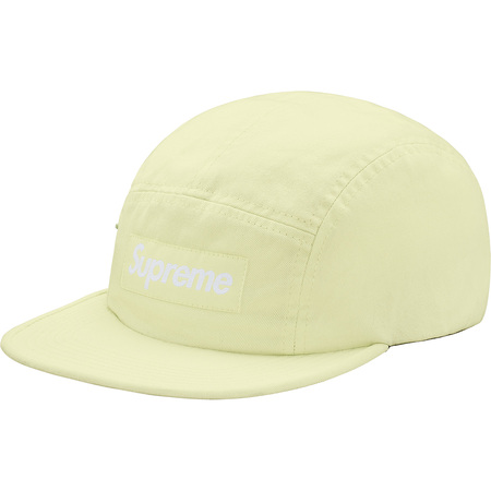 Side Zip Camp Cap (Pale Lime)