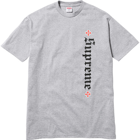 Supreme®/Independent® Old English Tee (Heather Grey)
