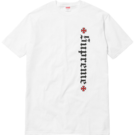 Supreme®/Independent® Old English Tee (White)