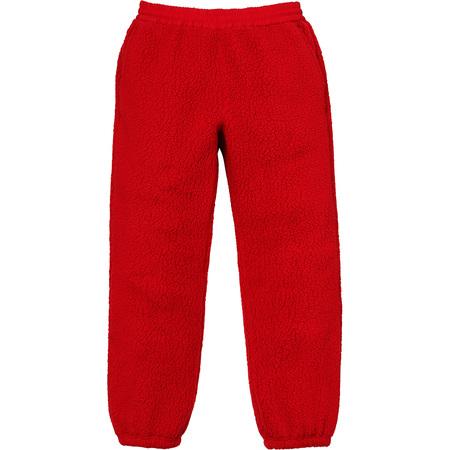 Polartec® Deep Pile Pant (Red)