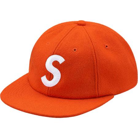 Wool S Logo 6-Panel (Orange)