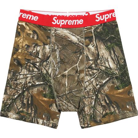 Supreme®/Hanes® Realtree® Boxer Briefs (2 Pack) (Woodbine)
