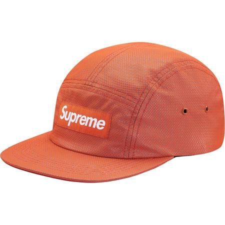 Bonded Mesh Camp Cap (Orange)