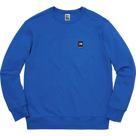 Supreme®/The North Face® Mountain Crewneck Sweatshirt (Royal)