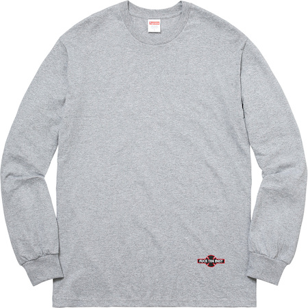 Supreme®/Independent® Fuck The Rest L/S Tee (Heather Grey)