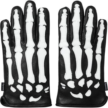 Supreme®/Vanson® Leather X-Ray Gloves (Black)