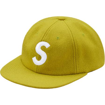 Wool S Logo 6-Panel (Lime)