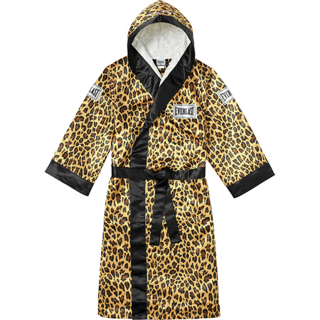 Supreme®/Everlast® Satin Hooded Boxing Robe (Leopard)