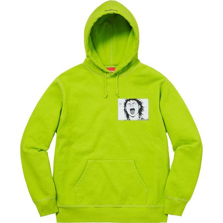 AKIRA/Supreme Patches Hooded Sweatshirt (Lime)