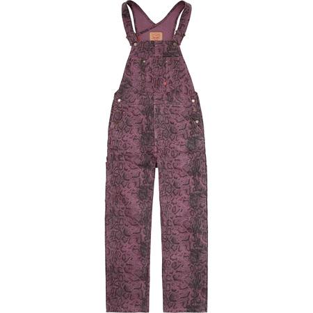 Supreme®/Levi's® Snakeskin Overalls (Purple)