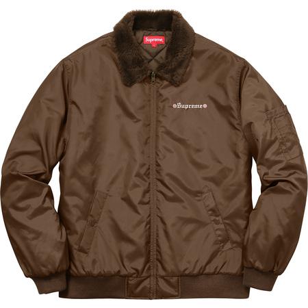 e221433447a Supreme® Independent® Fur Collar Bomber Jacket ...