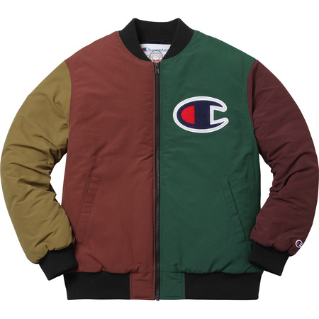 Supreme®/Champion® Color Blocked Jacket (Multi-Color)