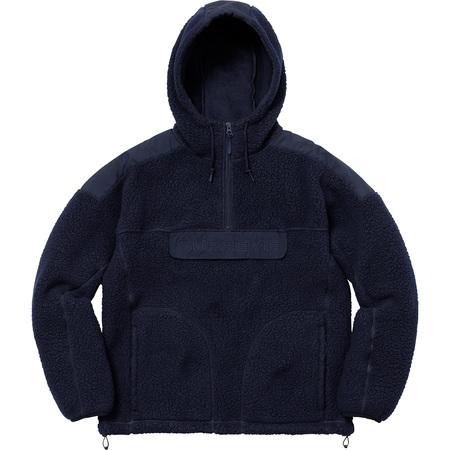 Polartec® Hooded Half Zip Pullover (Navy)