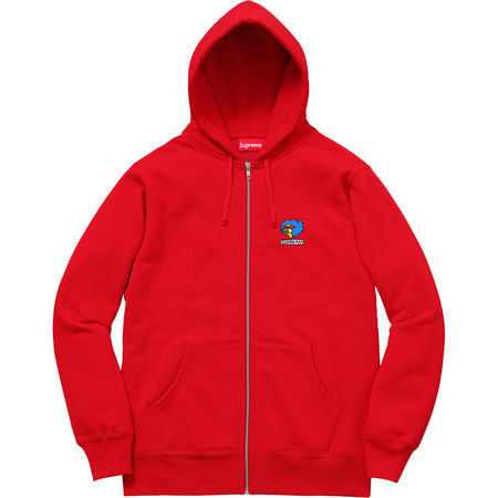Gonz Ramm Zip Up Sweatshirt (Red)