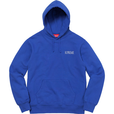Decline Hooded Sweatshirt (Royal)