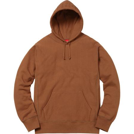 Embossed Logo Hooded Sweatshirt (Rust)