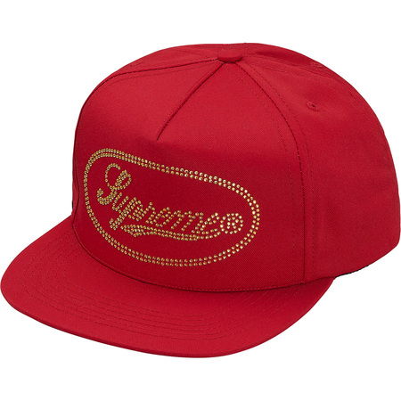Studded Script Logo 5-Panel (Red)