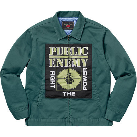 Supreme®/UNDERCOVER/Public Enemy Work Jacket (Dusty Teal)