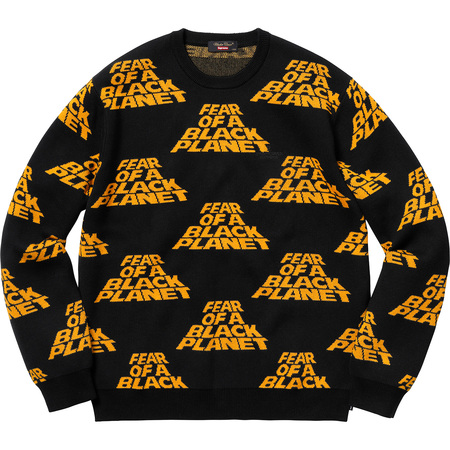 Supreme®/UNDERCOVER/Public Enemy Sweater (Black)