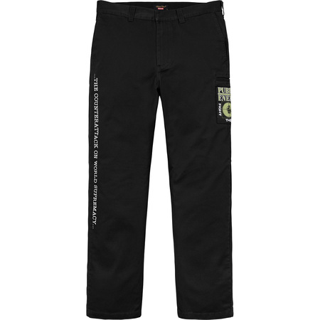 Supreme®/UNDERCOVER/Public Enemy Work Pant (Black)