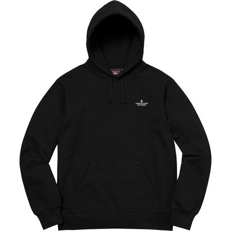 Supreme®/UNDERCOVER/Public Enemy Terrordome Hooded Sweatshirt (Black)