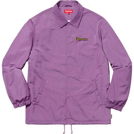 Gonz Logo Coaches Jacket (Violet)