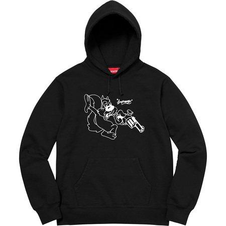 Lee Hooded Sweatshirt (Black)